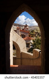 Famous Scotty's castle in Death valley national park