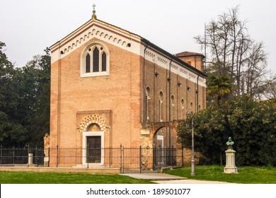 The famous Scrovegni Chapel in Padua