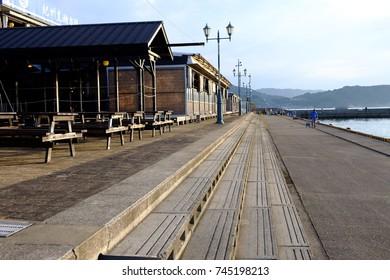 Famous seaside park, the Wakayama Marina City:Wakayama,Japan.