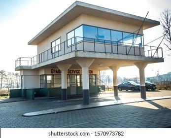 Famous service station at Den Bosch