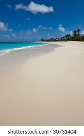The famous Shoal Bay beach of Anguilla