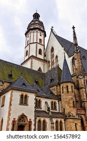 Famous St. Thomas church at Leipzig, Germany