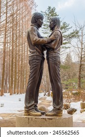Famous Statue of Nami Island,South Korea