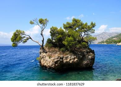 Famous stone Brela  , Croatia