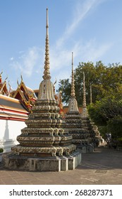Famous temple in Bangkok, Thailand