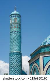 famous tile mosque