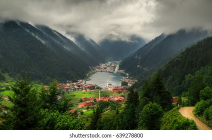 Famous touristic place in Trabzon, Uzungol