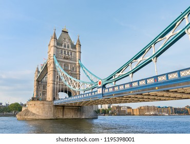 Famous Tower Bridge in London, United Kingdom