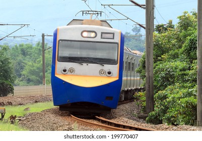 A famous train in Taiwan.