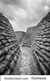 The famous Trenches of Death at Diksmuide, Belgium.