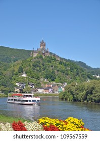 the famous Village of Cochem,Mosel River,Germany