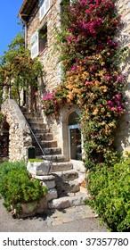 the famous village of Saint-Paul de Vence, Southern France