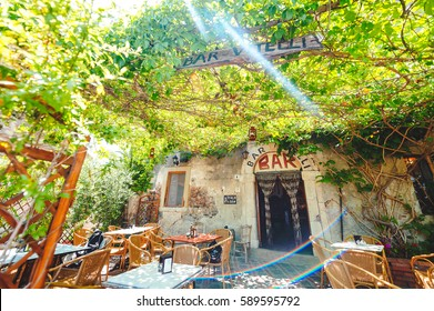 """The famous Vitelli bar, where the moviemaker Francis Ford Coppola has shooted some scenes of """"the Godfather"""""""