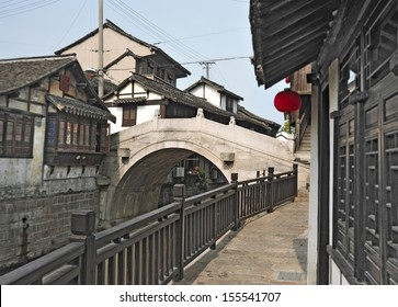 famous water village close to Shanghai, China