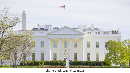 The famous White House in Washington DC