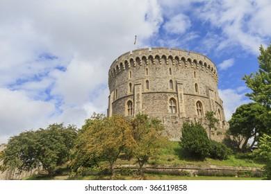 The famous Windsor Castle near London in United Kingdom