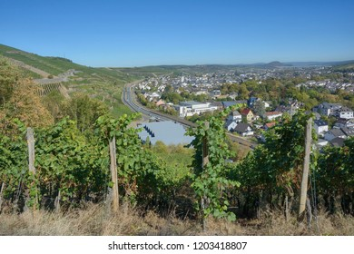 famous Wine Town of Bad Neuenahr-Ahrweiler,Rhineland-Palatinate,Germany