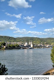 famous Wine Village of Boppard at Rhine River,Rhineland-Palatinate,Germany