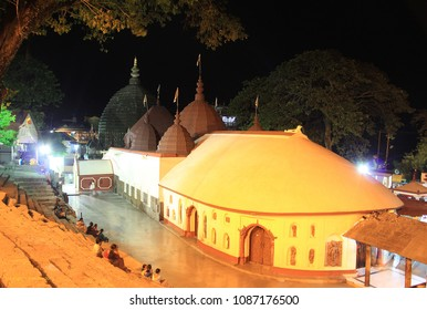 Famouse Kamakhya Temple known as Shakti Peeth of Maa Shakti situated in Nilachal hills in Guwahati City of Assam