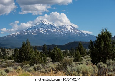 Famously mystical Mount Shasta of Northern California