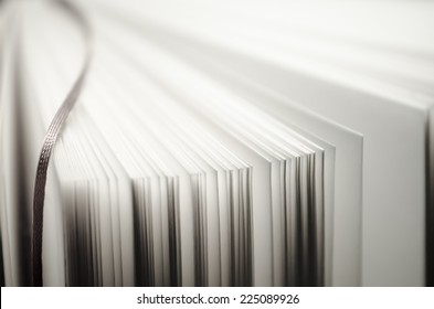 fan of book pages making texxture/background