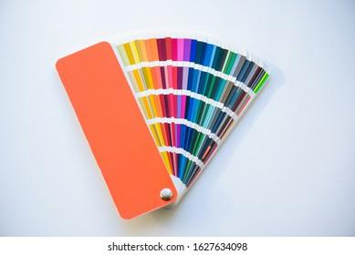 fan color palette design pantone