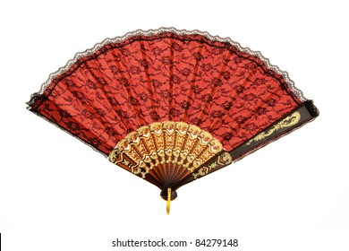 A fan for cooling in the hot summer in Spain.