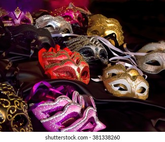 Fancy Dress Costume Party Masks. Masquerade Ball Mask