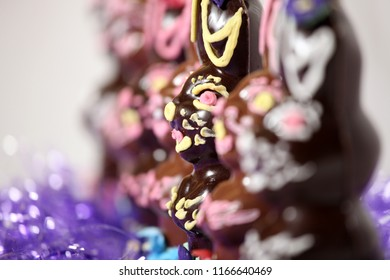 Fancy Expensive Decorated Chocolate Easter Bunny Rabbit