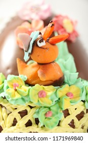 Fancy Expensive Decorated Chocolate Easter Egg Duck