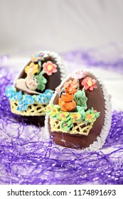 Fancy Expensive Decorated Chocolate Easter Egg