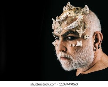 Scary Halloween Makeup For Guys With Beards.Ugly Beard Images Stock Photos Vectors Shutterstock