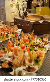 Fancy Hors d'oeuvre Served For Guests