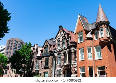 Fancy Old Homes in the Gold Coast Neighborhood of Chicago
