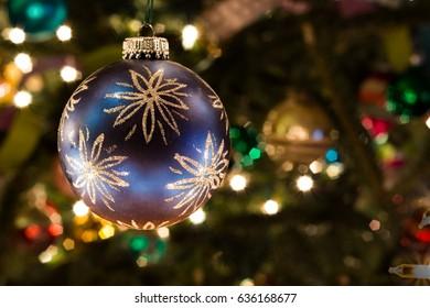 Fancy Purple Ornament