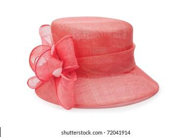 A fancy wedding hat
