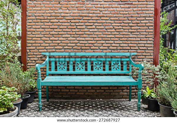 Terrific Fancy Wood Bench Stock Photo Edit Now 272687927 Beatyapartments Chair Design Images Beatyapartmentscom