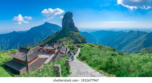 Fanjing Mountain scenic spot, Tongren City, Guizhou Province, China