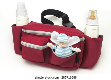 Fanny Pack with Baby Bottles