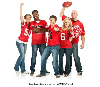 Fans: Fans Cheer for Favorite Team