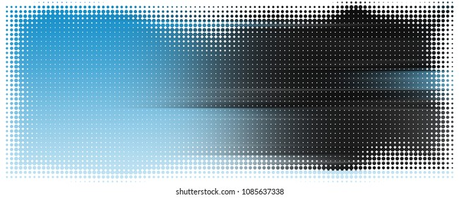Fantastic abstract panorama stripe background