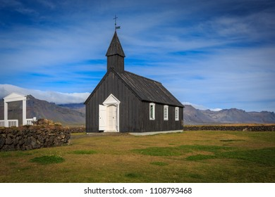 Fantastic Black Church in Iceland, Budir - famos Hollywood set and make a trip