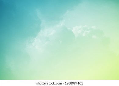 fantastic cloudy sky with pastel gradient color , nature abstract background