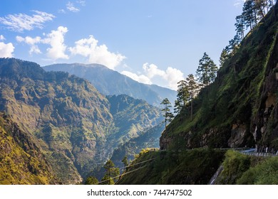 Fantastic mountain landscape. India, Himalayas