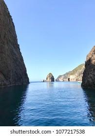 Fantastic sea and rocks with free sky