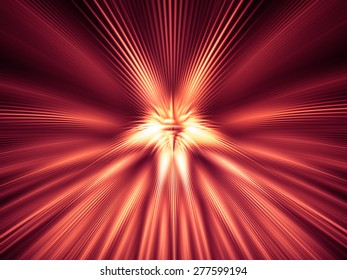 Fantastic unusual abstract background with luminous reflectionsact background with luminous reflections.