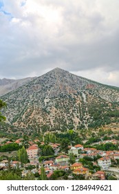 Fantastic view of Elmali mountain and of the village! This height gives Elmali village a much cooler climate and is a welcome respite from Anatolia's heat. Antalya-Turkey