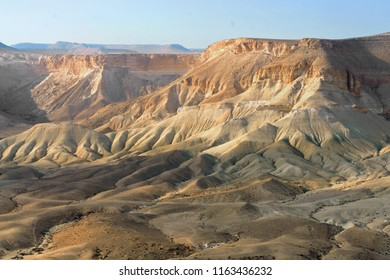 Fantastic views of Ein Avdat, Zin Valley. Negev, desert and semidesert region of southern Israel