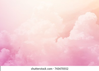 fantasy cloudy sky ,nature abstract background