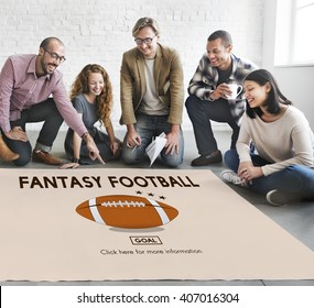 Fantasy Football Entertainment Game Play Sport Concept